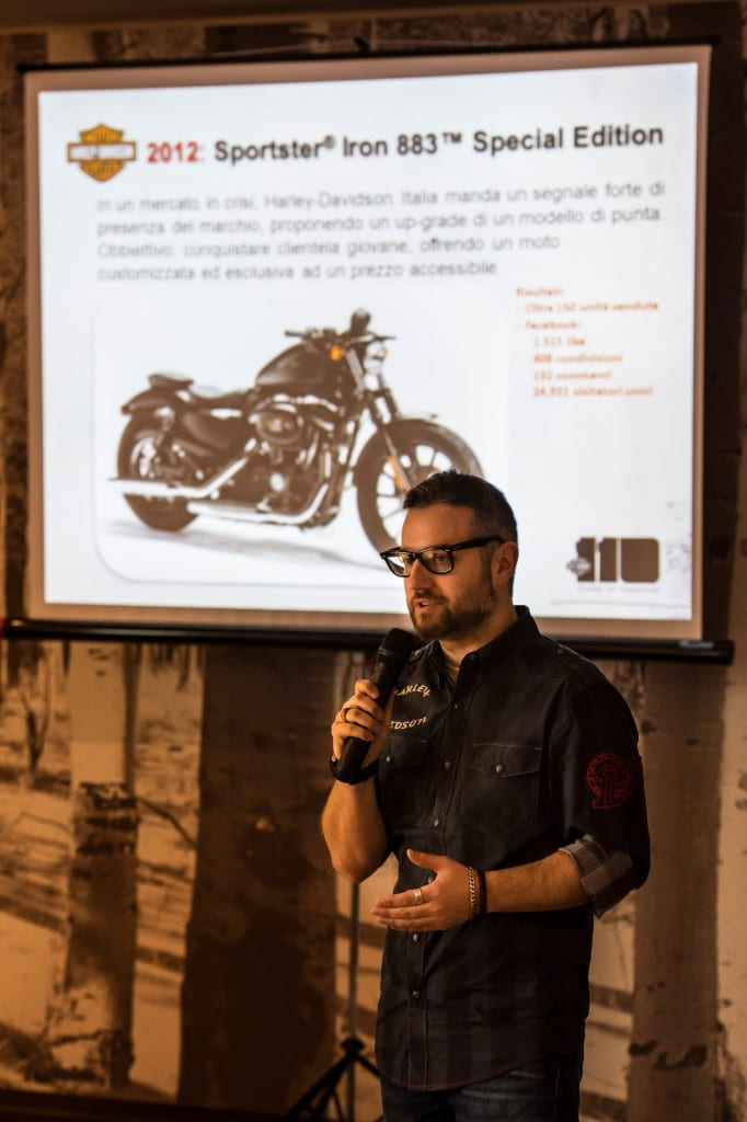 Press Launch HD Sportster® 883™ Special Edition S