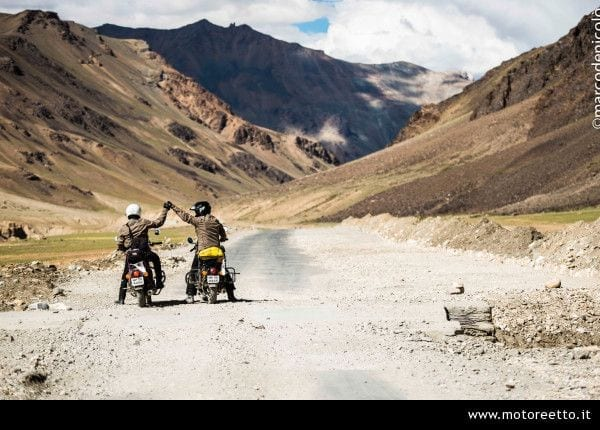 me and paolo on morey plan in ladakh