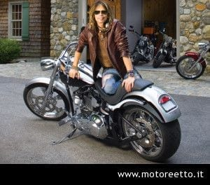 steven tyler and dirico motorcycles