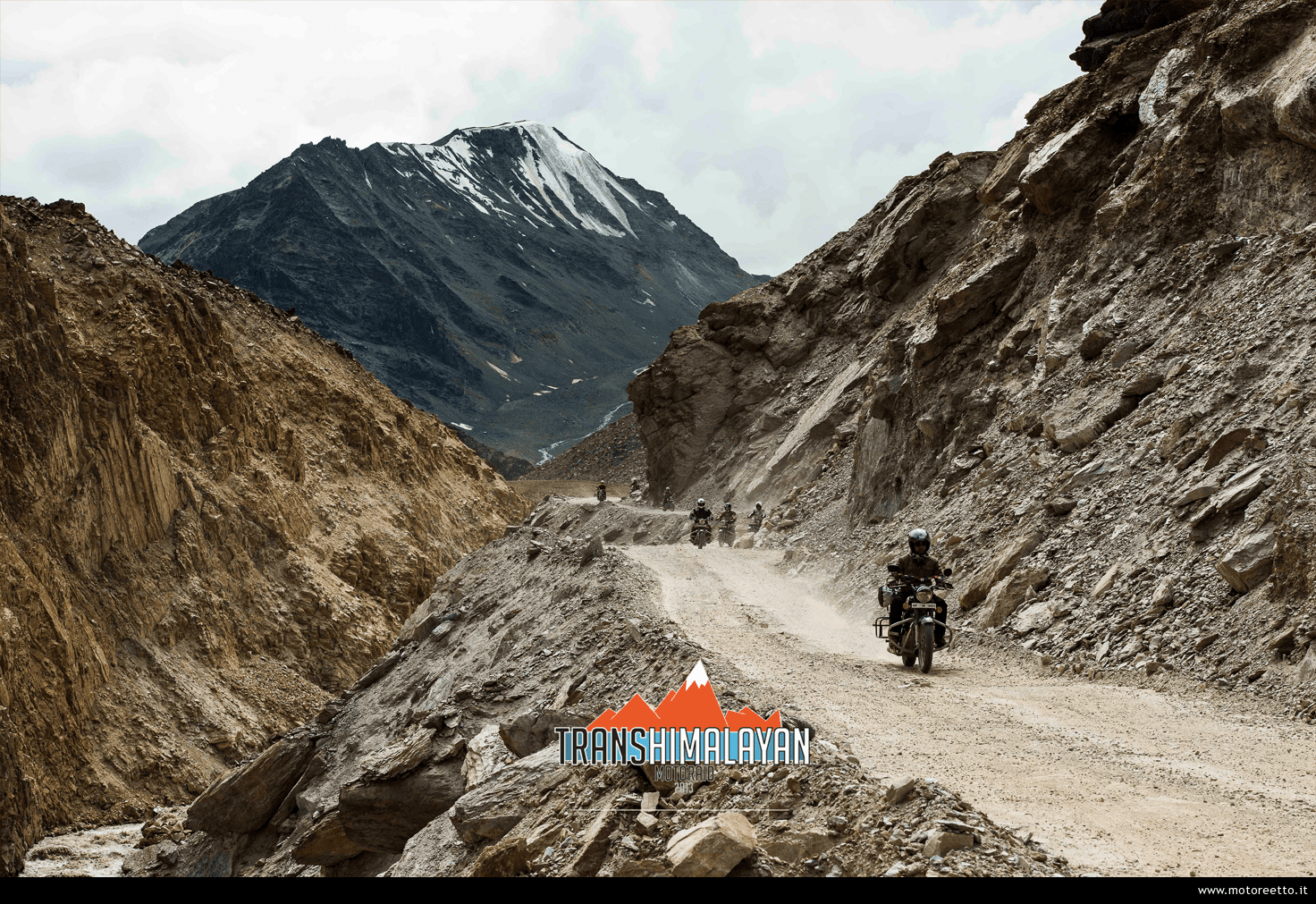 trans-himalayan motoraid strada in quota