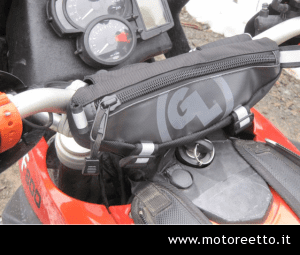 bag for handlebar zig zag giant loop moto