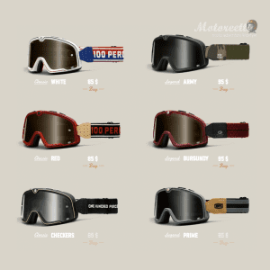ride the barstow goggles legend and classic by 100%