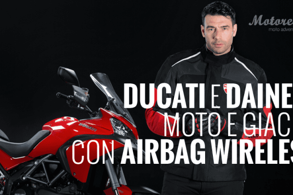 Ducati Multistrada D-Air: airbag in wireless