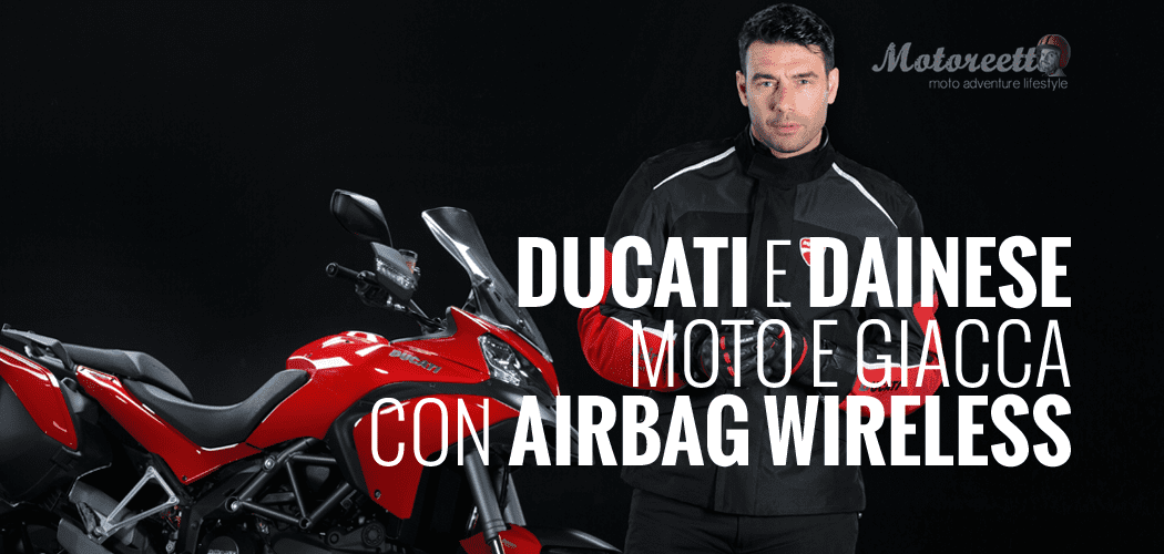ducati dainese multistrada giacca dair airbag wireless