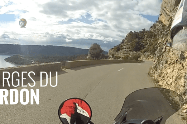 gorges du verdon in moto