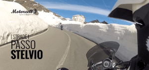 passo stelvio in moto video on board
