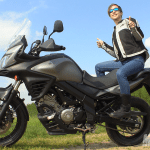 v-strom 650 xt suzuki test ride passeggero approved