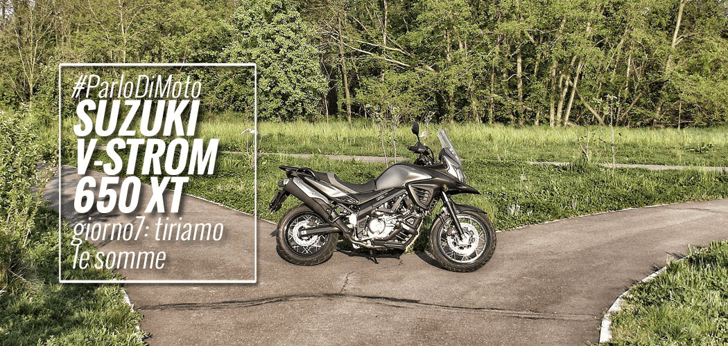 v-strom 650 xt suzuki test motoreetto vlog video long ride