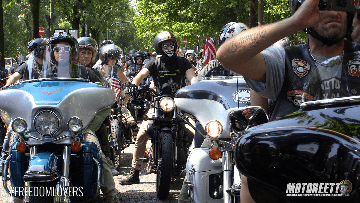 raduno jeep e bikers torino motoreetto video