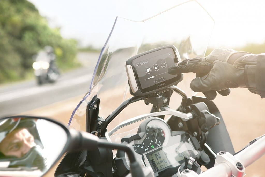 tomtom rider review bmw gs