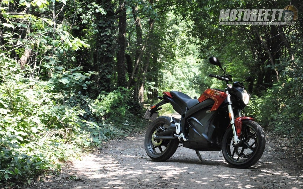 zero motorcycles sr test motoreetto