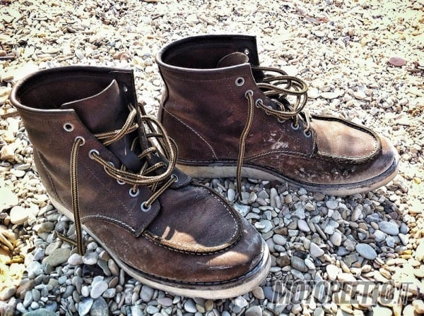 boots on conero marche in moto