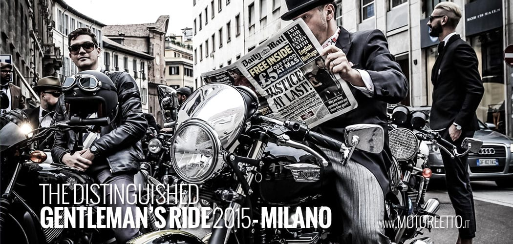 distinguished gentleman's ride 2015 Milano motoreetto video