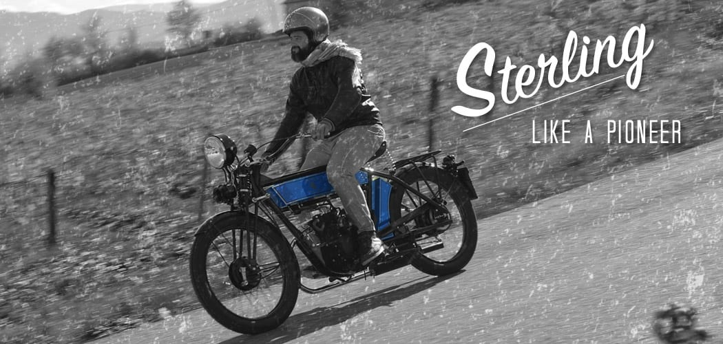 sterling the black douglas motorcycle on motoreetto - cover