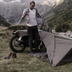 moto tenda bivouac exposed