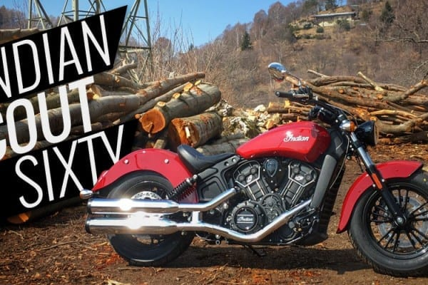 Indian Scout Sixty – video prova
