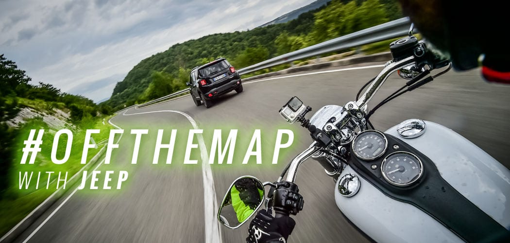 jeep harley avventura off the map cover di motoreetto