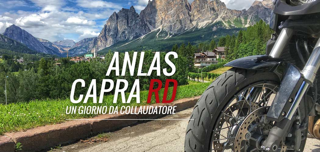 anlas capra rd test video motoreetto