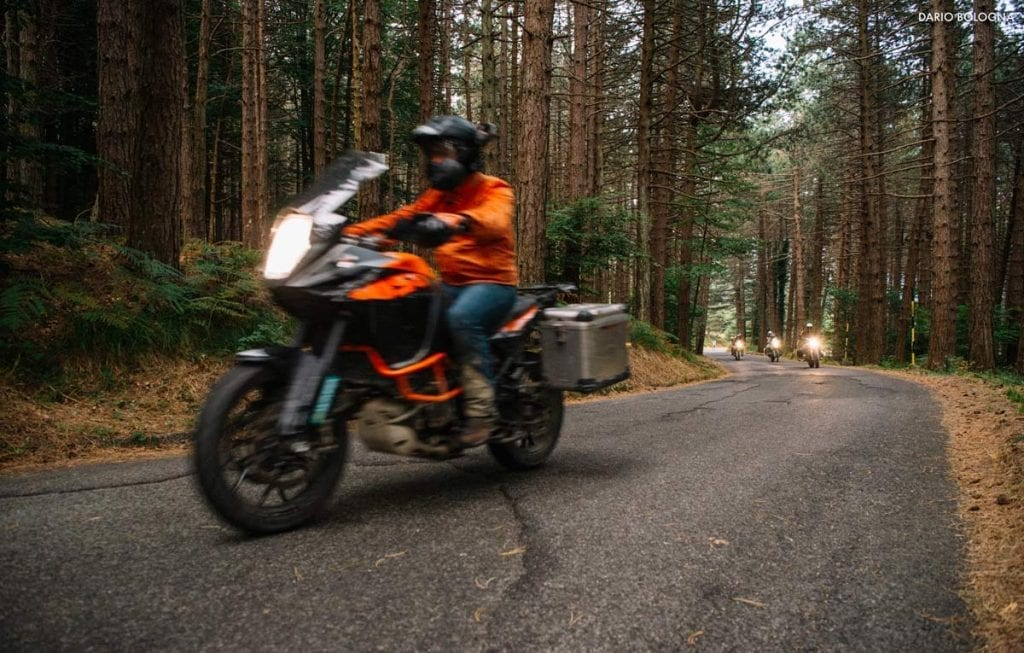 fuoricena capitolo 2 motoreetto riding ktm 1050 in the woods