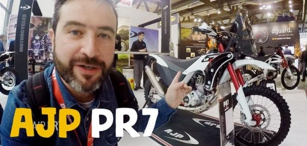 ajp pr7 eicma motoreetto video