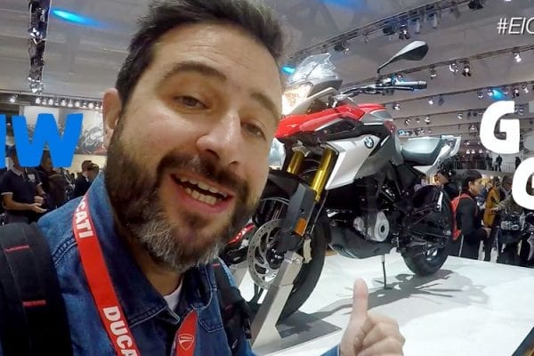 bmw g 310 gs eicma motoreetto video
