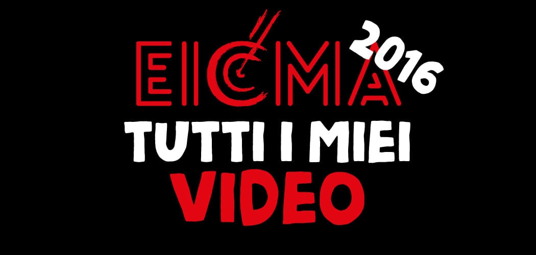 eicma 2016 tutti i video di motoreetto