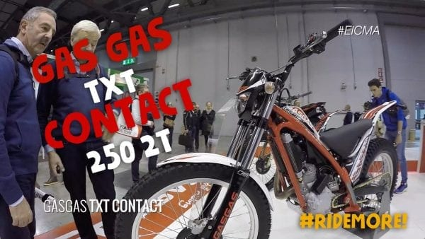 gas gas contact eicma motoreetto video