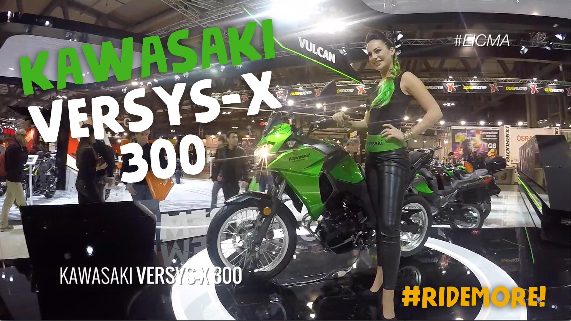 kawasaki versys x 300 eicma motoreetto video