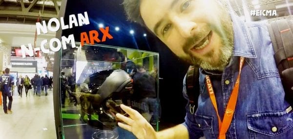 nolan n-com arx eicma video motoreetto