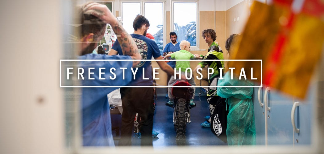 mototerapia gaslini natale documentario freestyle hospital di motoreetto