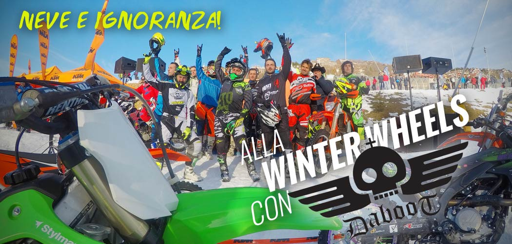 winter wheels 2017 prato nevoso ski daboot enduro motoreetto video