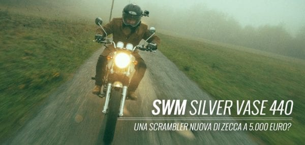 SWM silver vase 440 test di motoreetto prova video