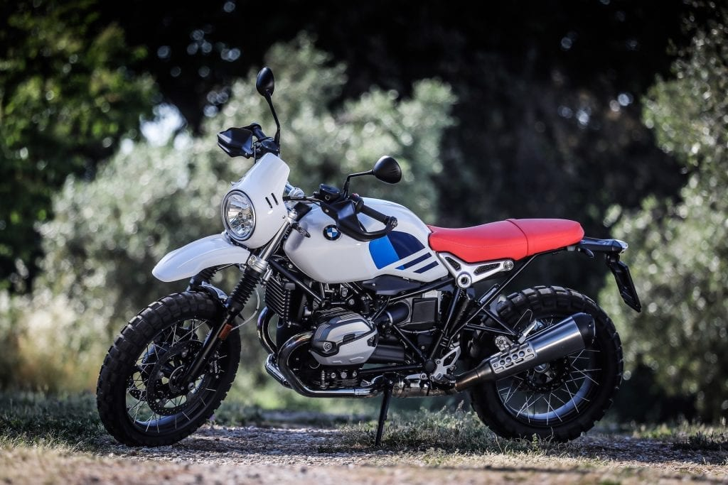 BMW Urban GS press test motoreetto video statica laterale