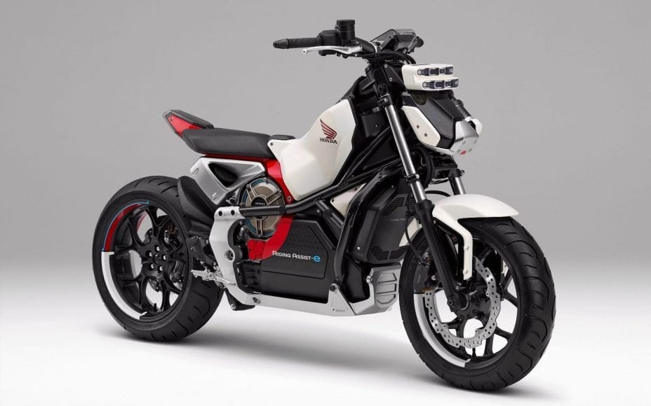 honda riding assist electri motorcycle