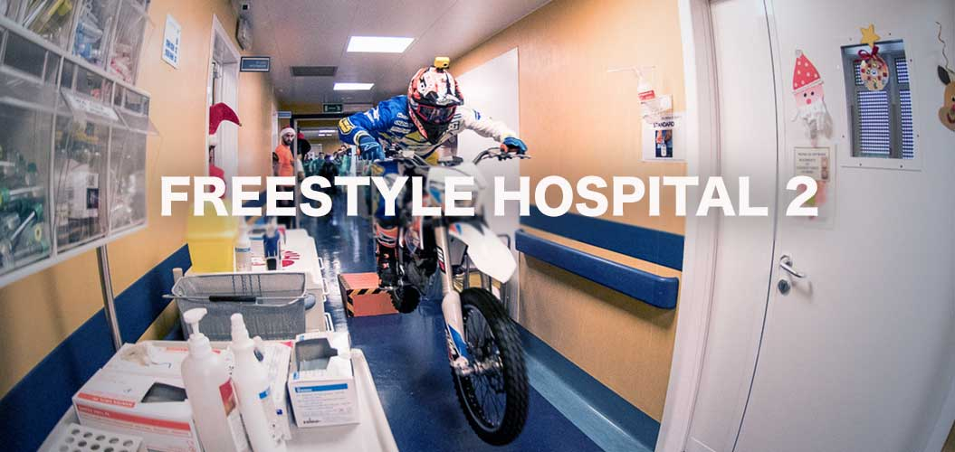 mototerapia ospedale gaslini freestyle hospital video motoreetto racconta vanni oddera