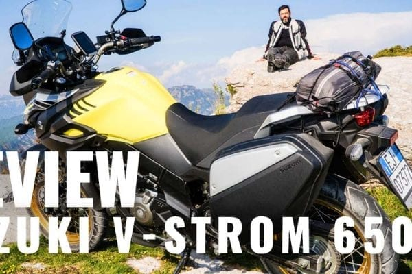 v-strom 650 xt review suzuki video motoreetto