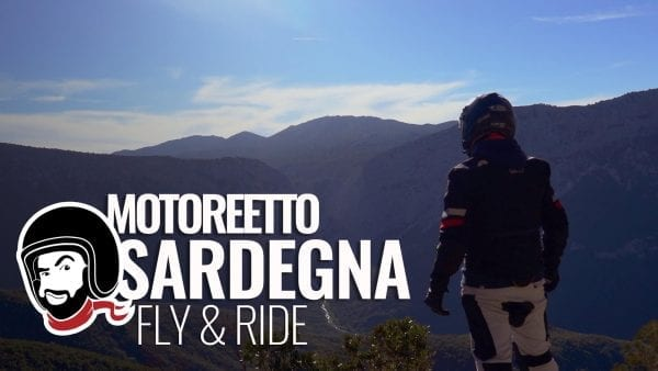 sardegna in moto fly and ride video reportage motoreetto motorent sardinia