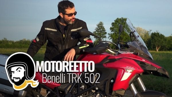 benelli trk 502 review motoreetto
