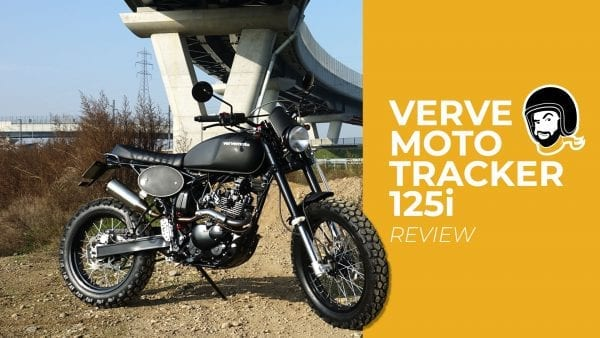 verve moto tracker 125 test review