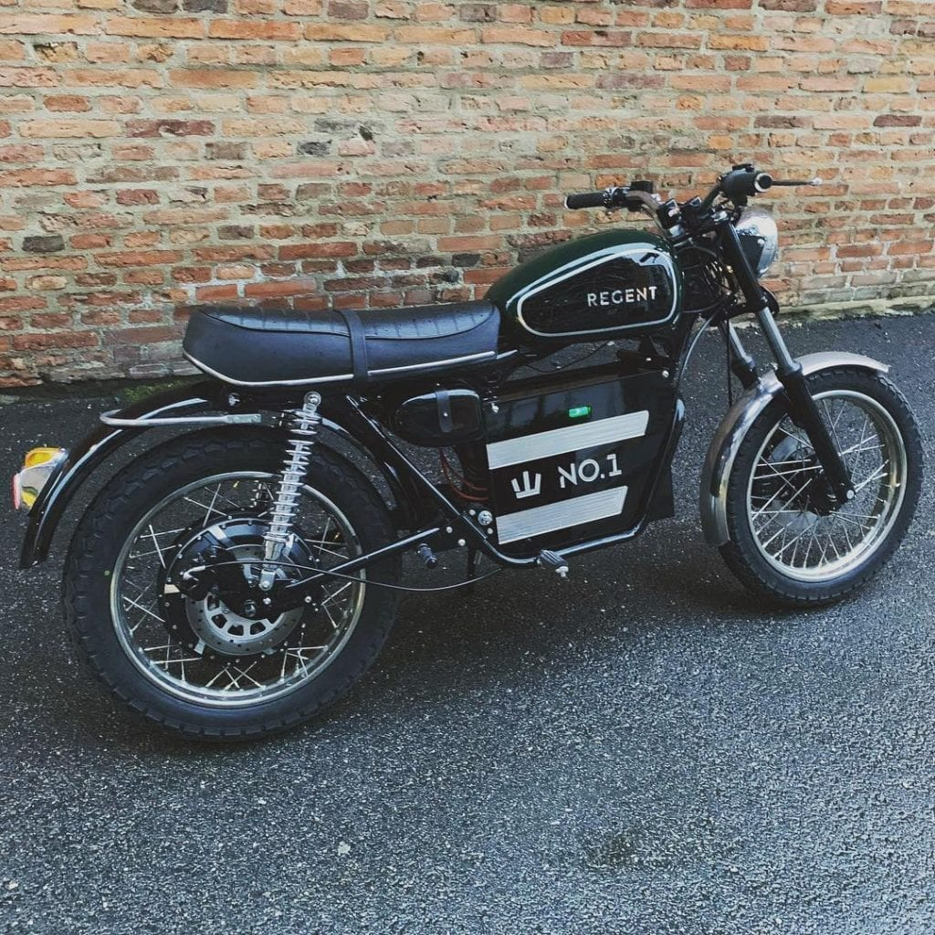 Want A Vintage Electric Motorcycle? From Sweden, Regent