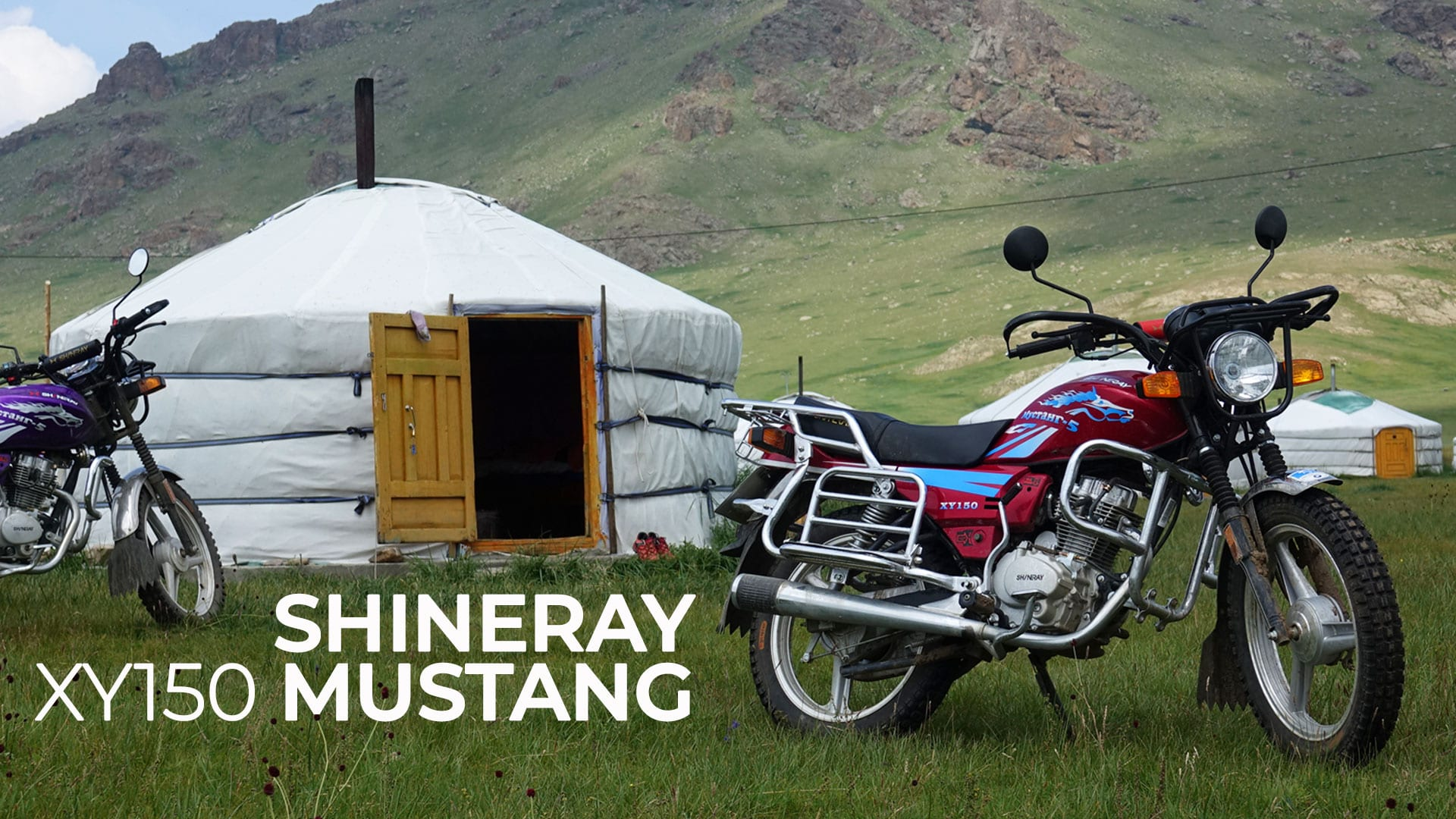 shineray mustang la moto in mongolia
