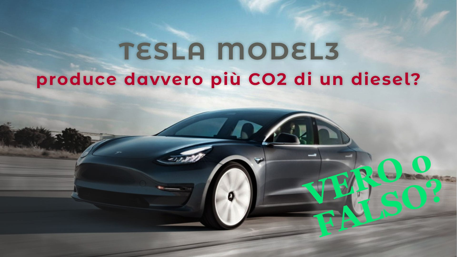tesla model tre co2 mercedes diesel