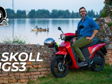 askoll ngs3 prova di motoreetto video