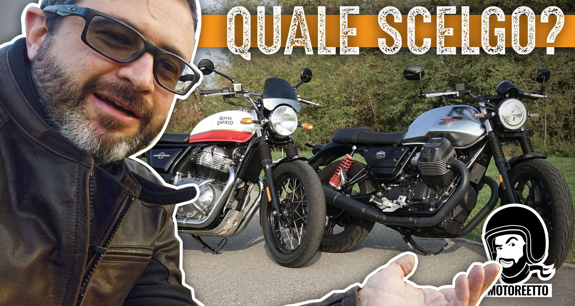 v7 interceptor comparativa motoguzzi royal enfield di motoreetto